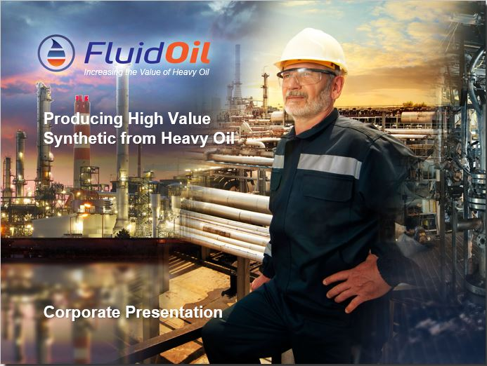 FluidOil Corporate Presentation