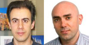 Alireza Aghighi Rad (L), Francisco Zaragoza (R)